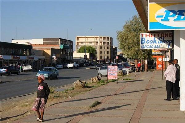 В столице Лесото городе Масеру / Фото из Лесото