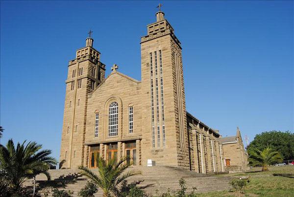 Церковь в Масеру, Лесото / Фото из Лесото