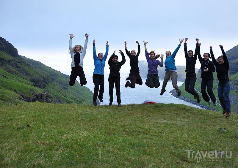 Наша сплоченная команда - результат успешного тимбилдинга на Фарерах / Фото с Фарерских островов