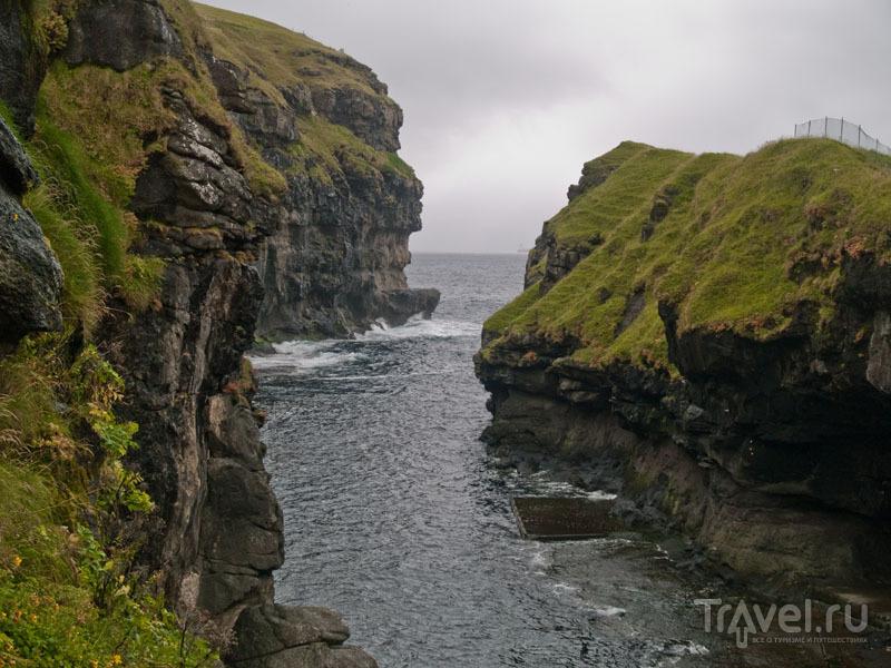 Каньон в Гьоугве / Фото с Фарерских островов