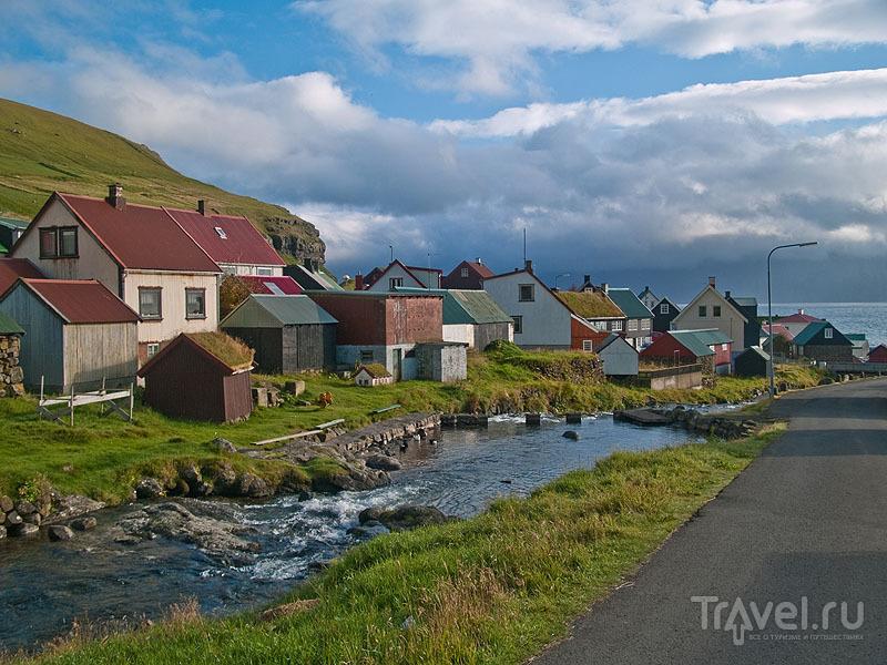 Солнечное утро в Гьоугве / Фото с Фарерских островов