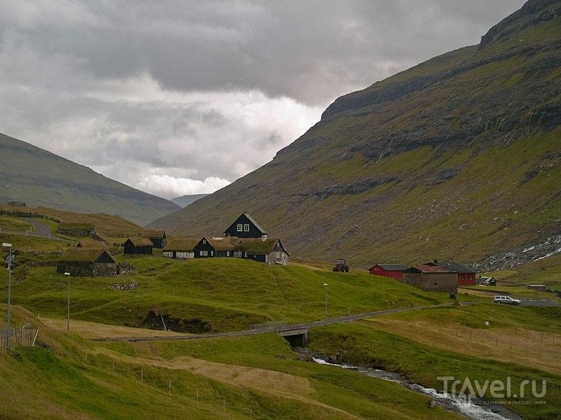 Деревня Саксун - одна из самых древних на Фарерах / Фото с Фарерских островов