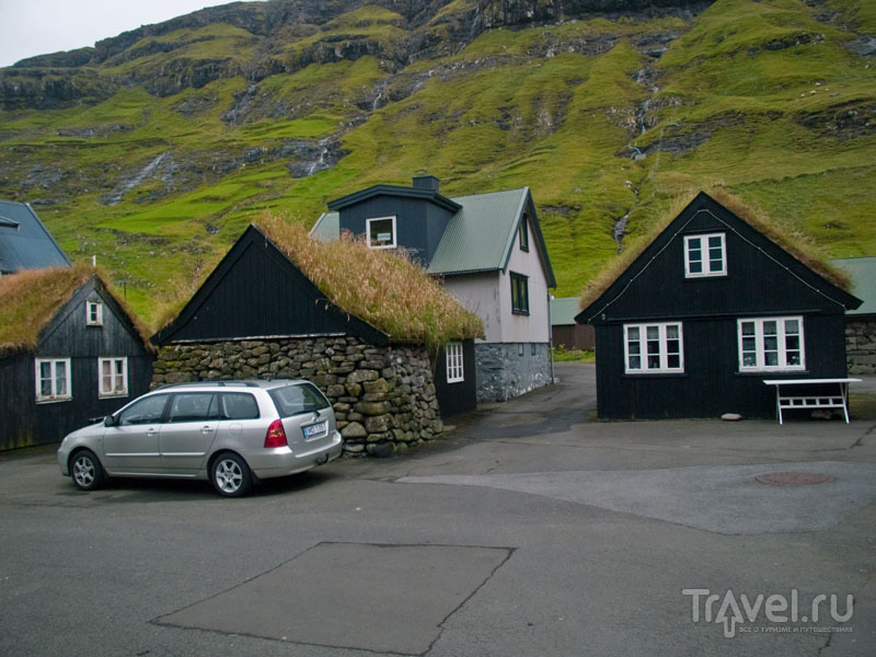 Старые и не очень дома в Тьёрнувиге / Фото с Фарерских островов