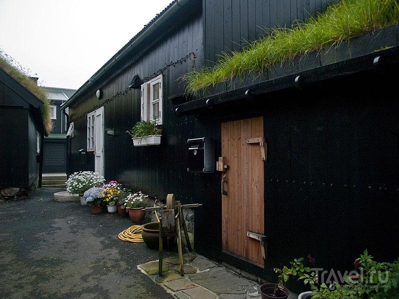 Жилые дома в Тьёрнувиге / Фото с Фарерских островов