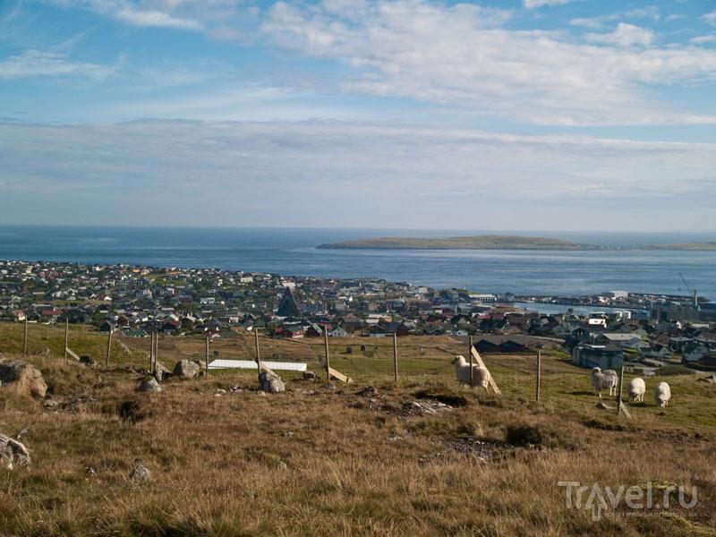Вид на Торсхавн / Фото с Фарерских островов