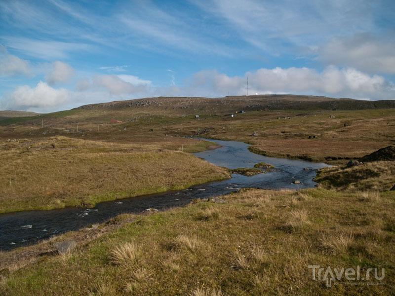 Фарерский пейзаж / Фото с Фарерских островов