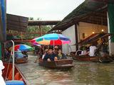 Плавучий рынок / Таиланд