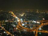 Ночной Бангкок с небоскреба Байок-Скай / Таиланд