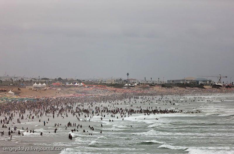Пляж в Марокко / Фото из Марокко