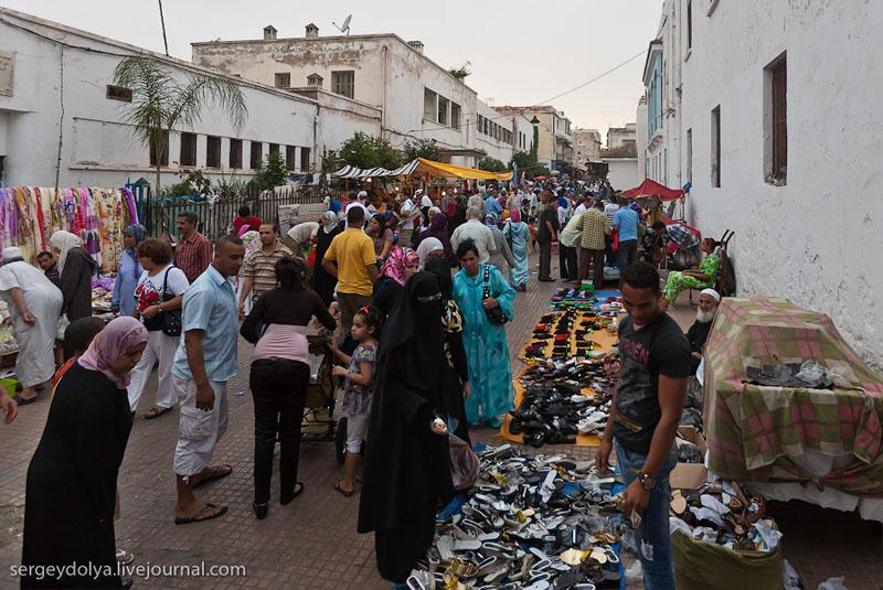 Уличный рынок в Марокко / Фото из Марокко