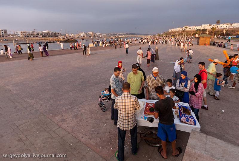Набережная в Марокко / Фото из Марокко
