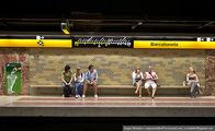 Пассажиры метро / Испания