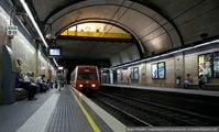 Поезд на станции / Испания