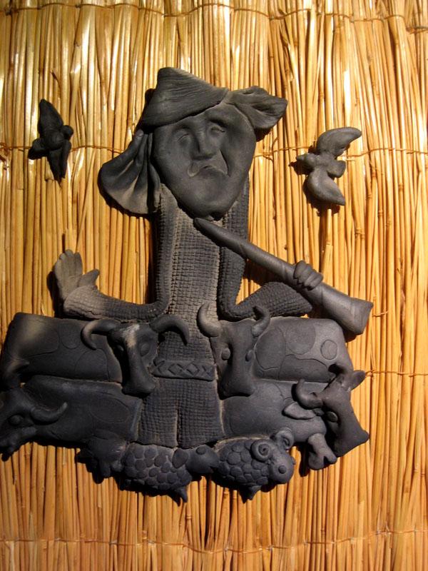 Дух плодородия из собрания Этнокосмологического музея, Литва / Фото из Литвы