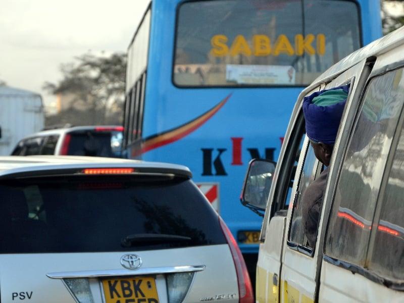 Пробка в Найроби / Фото из Кении