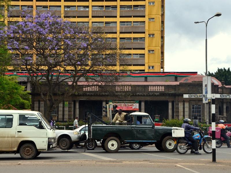 Движение на улицах Найроби / Фото из Кении
