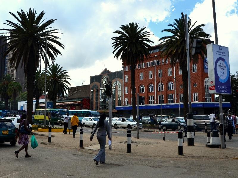 На улице Найроби / Фото из Кении