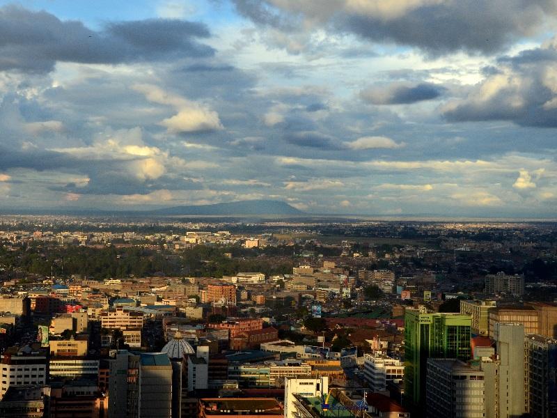Небоскребы в центре Найроби / Фото из Кении