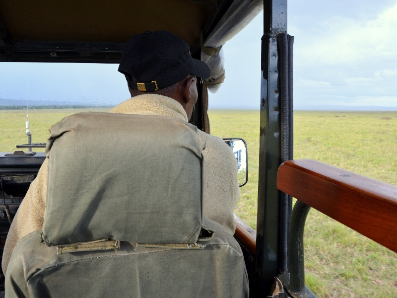 Гид на сафари в Кении / Фото из Кении