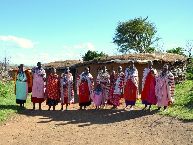 Женщины племени масаев, Кения / Фото из Кении