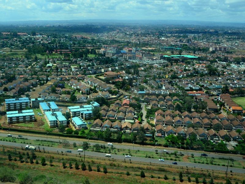 Коттеджи на окраине Найроби, Кения / Фото из Кении