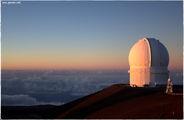 Обсерватория на закате / США