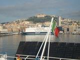 Вид на Неаполь с акватории / Италия