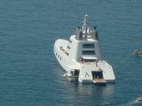 Футуристическая яхта / Италия