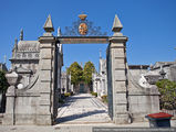 Вход на кладбище / Португалия
