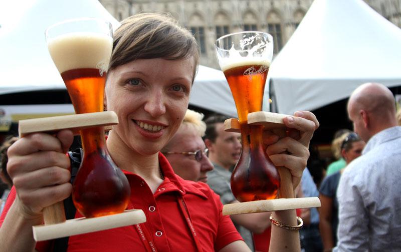 На Бельгийском пивном уик-энде / Фото из Бельгии