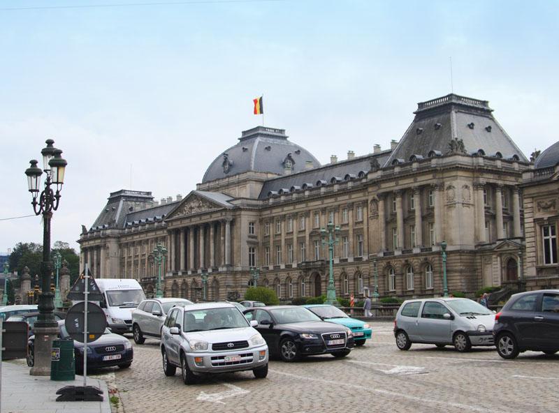 Королевский дворец в Брюсселе / Фото из Бельгии