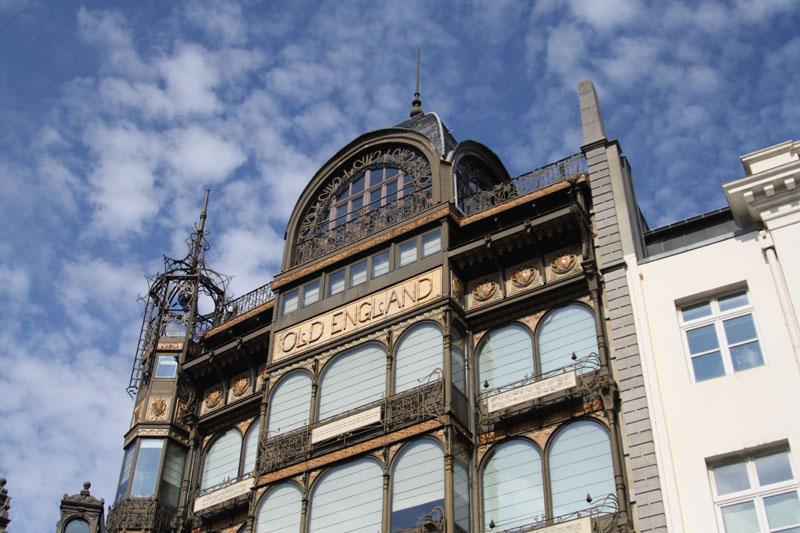 Здание в стиле модерн, Брюссель / Фото из Бельгии