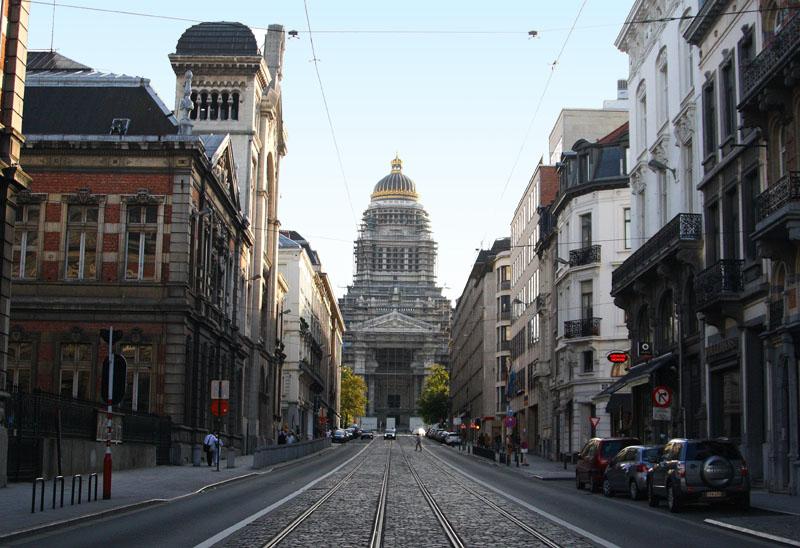 Вид на Дворец правосудия в Брюсселе / Фото из Бельгии