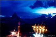 Отель ночью / Швейцария
