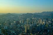 Предрассветный Сеул / Южная Корея