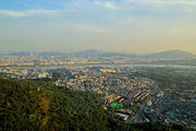 Вид на город / Южная Корея