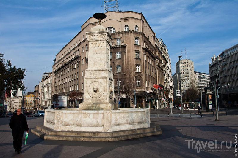 Площадь в Белграде, Сербия / Фото из Сербии