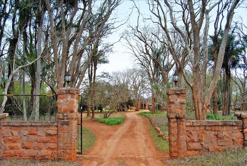 Ворота фермы в Свазиленде / Фото из Свазиленда