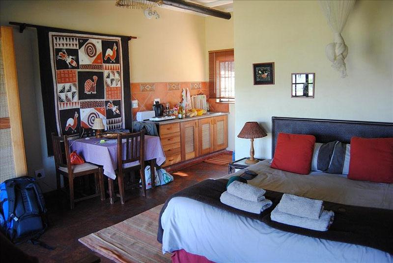 Интерьер гостевого домика в Свазиленде / Фото из Свазиленда