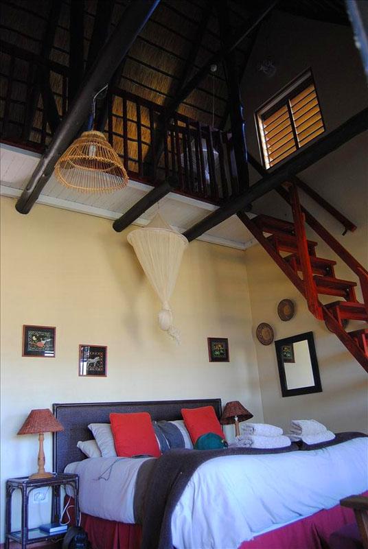 Второй этаж гостевого домика в Свазиленде / Фото из Свазиленда