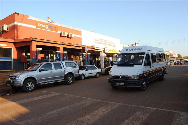 На улице в Ситеки, Свазиленд / Фото из Свазиленда
