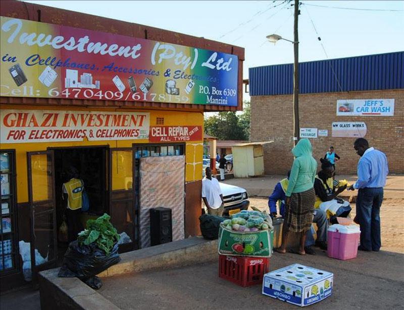 Супермаркет в Свазиленде / Фото из Свазиленда