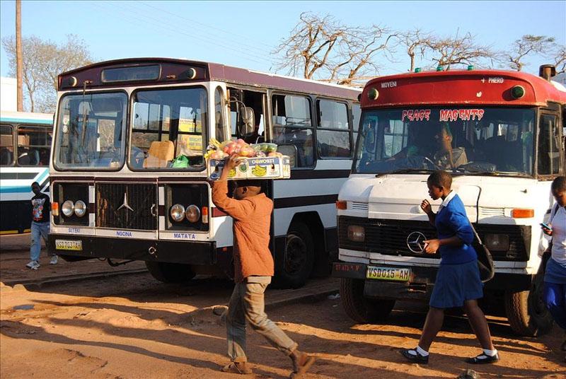 Автовокзал в Ситеки, Свазиленд / Фото из Свазиленда