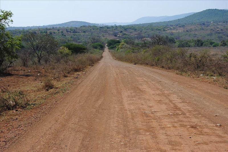 Дорога в Свазиленде / Фото из Свазиленда