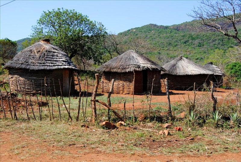 Хижины в Свазиленде / Фото из Свазиленда