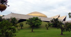 Вид дворца / Бруней