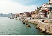 район Рибейра в Порту / Португалия