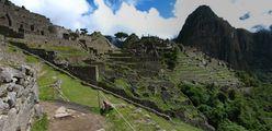 Вид на город / Перу