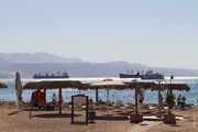 Пляж узкий / Израиль