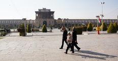 Вид с площади / Иран